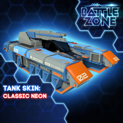 Battlezone - Classic Neon Tank Skin