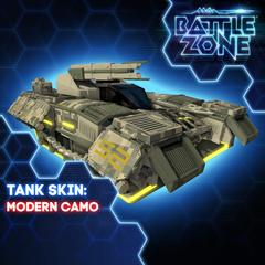 Battlezone - Modern Camo Tank Skin