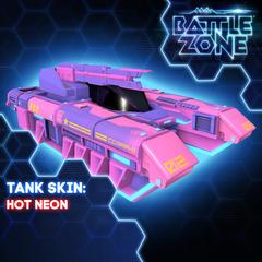 Battlezone - Hot Neon Tank Skin