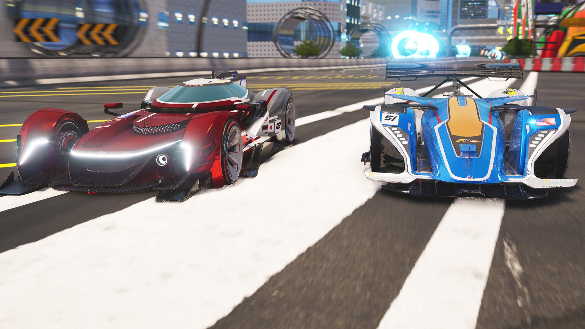 Xenon Racer скриншот 1