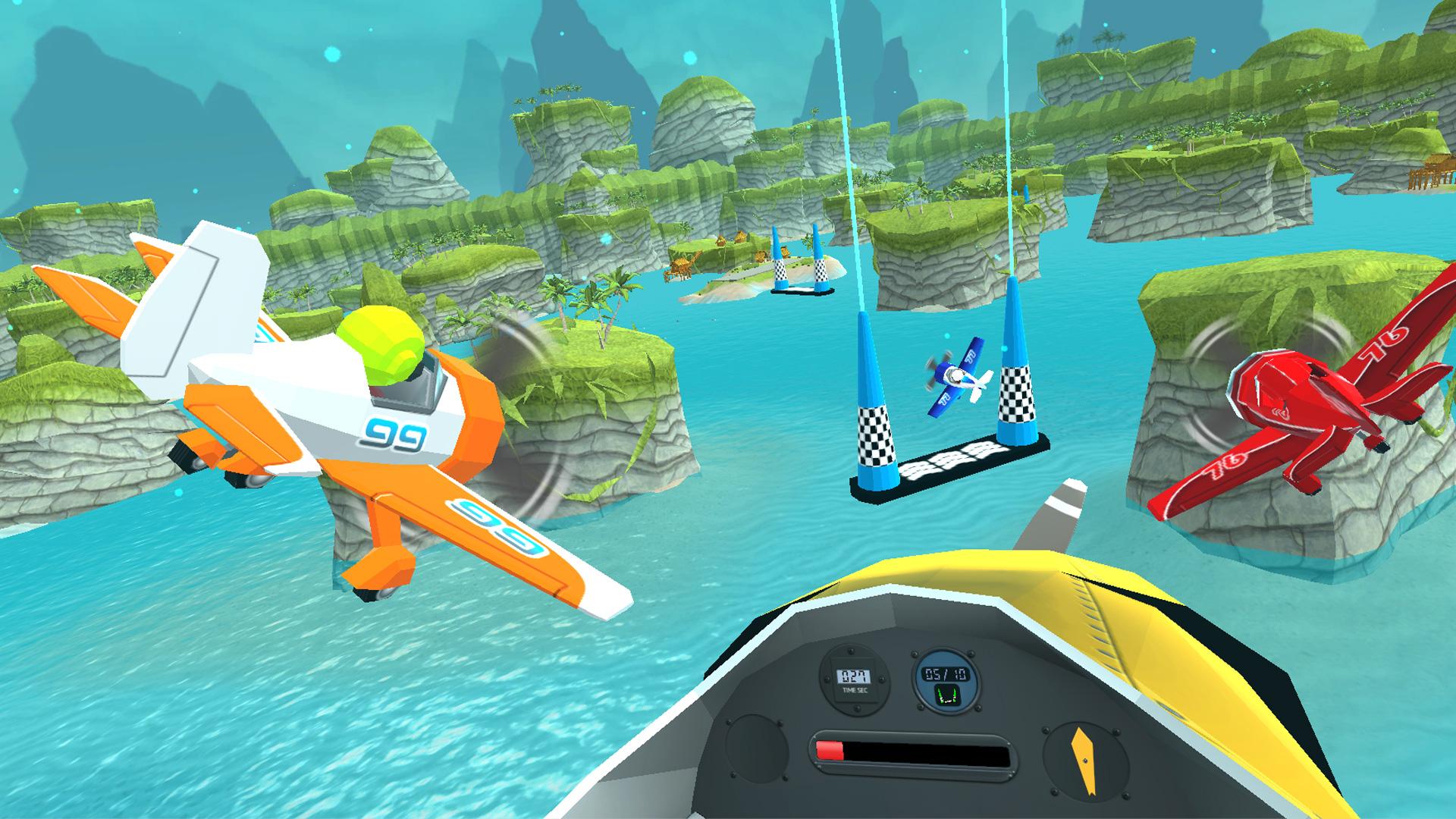 Скриншот №3 к Pirate Flight VR