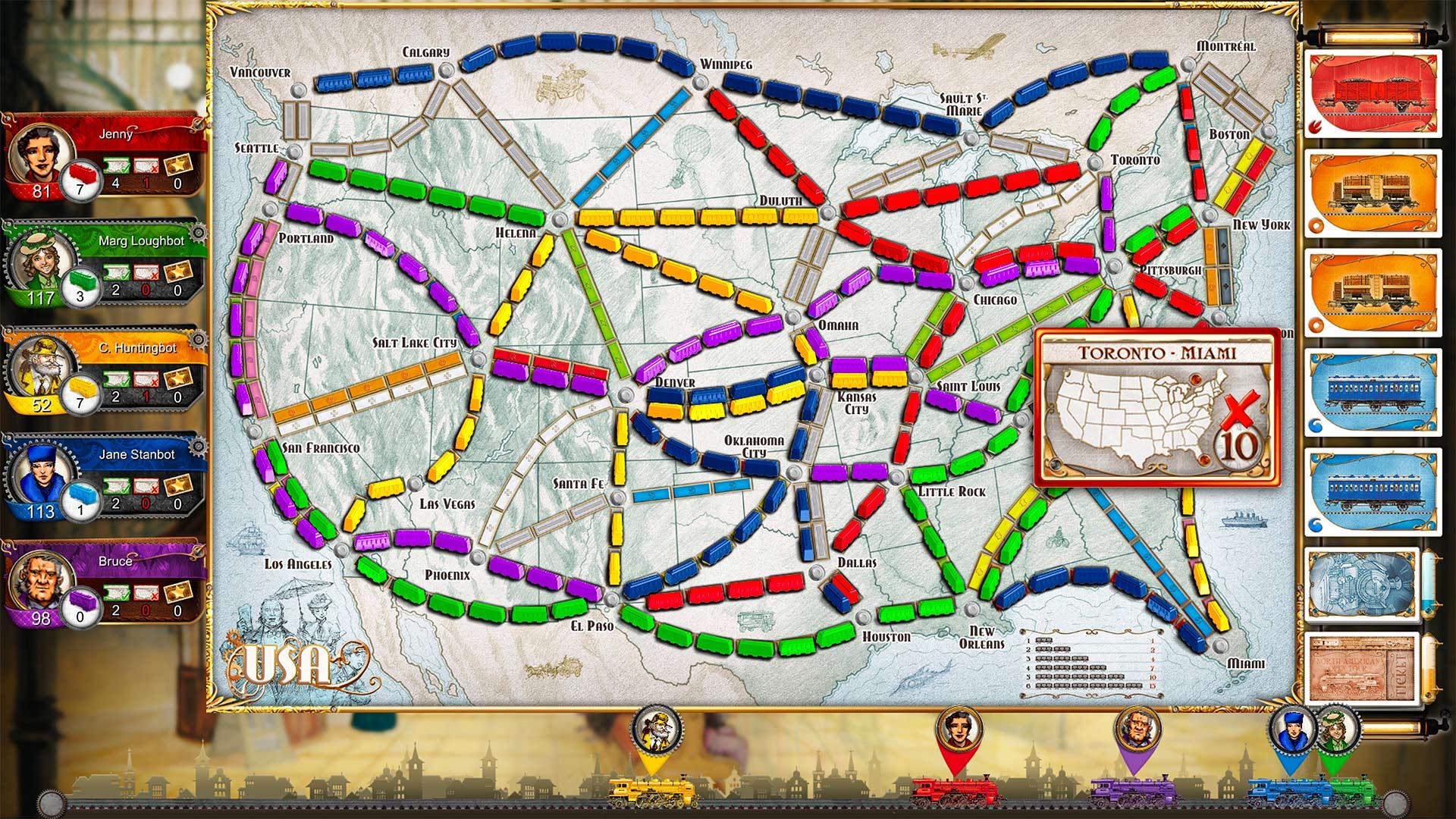 Скриншот №3 к Ticket To Ride