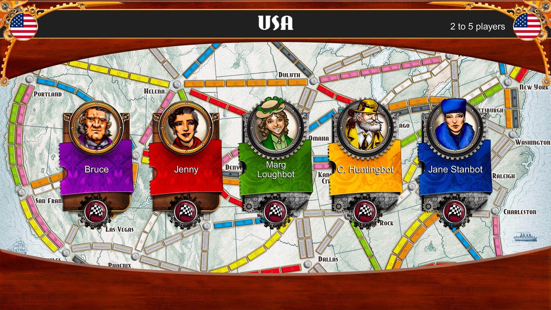 Скриншот №1 к Ticket To Ride