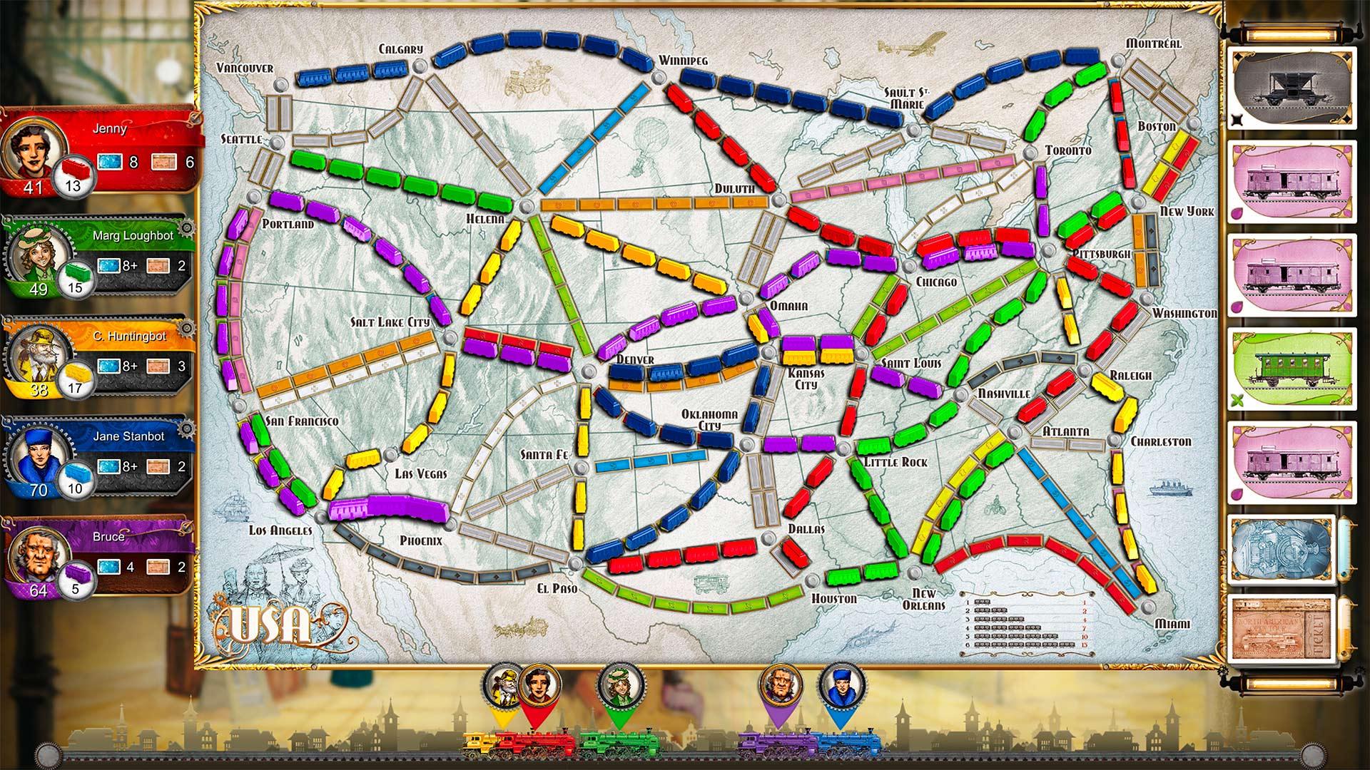 Скриншот №5 к Ticket To Ride