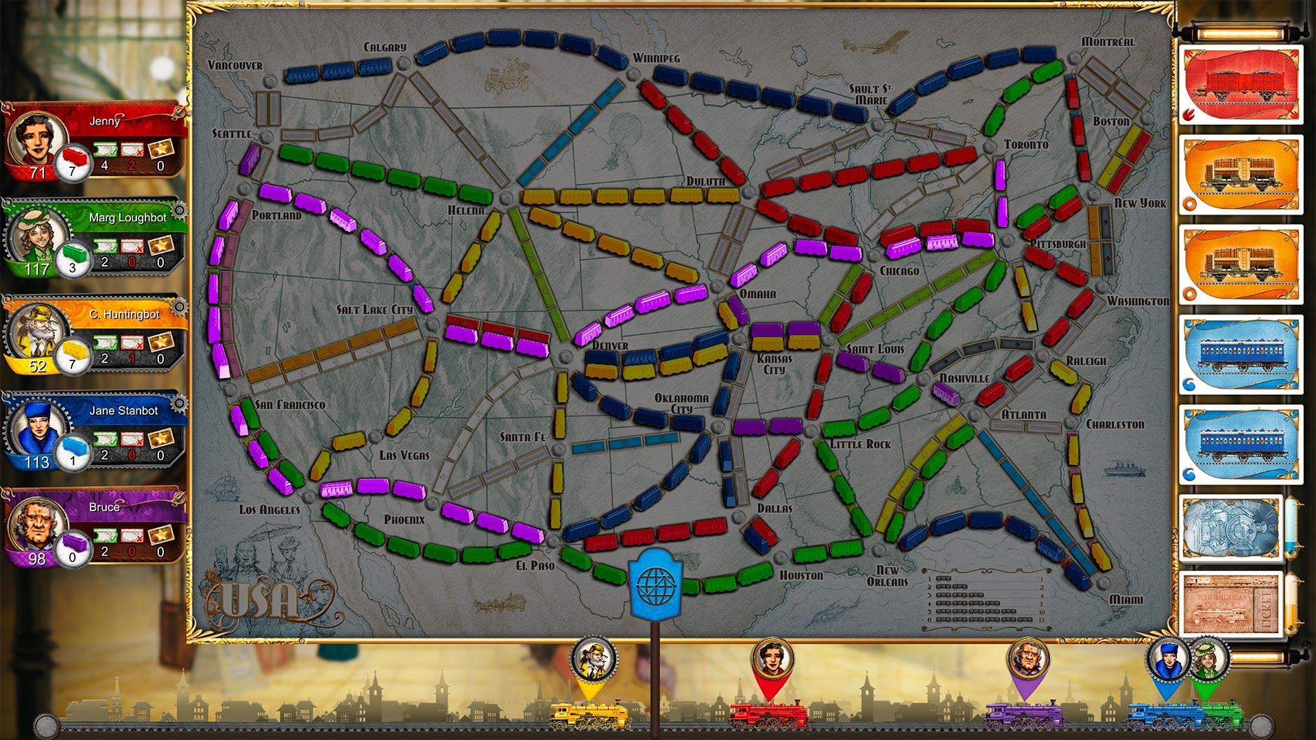 Скриншот №6 к Ticket To Ride