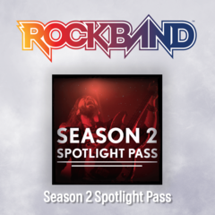 Rock Band 4 Season 2 Spotlight Pass
