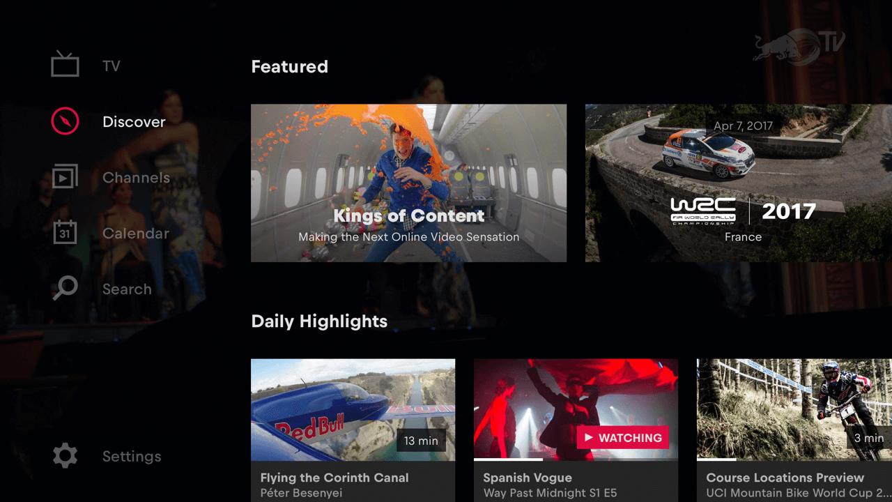 Red Bull TV: Live Sports, Music & Entertainment on PS3 ...  Red Bull TV: Li...