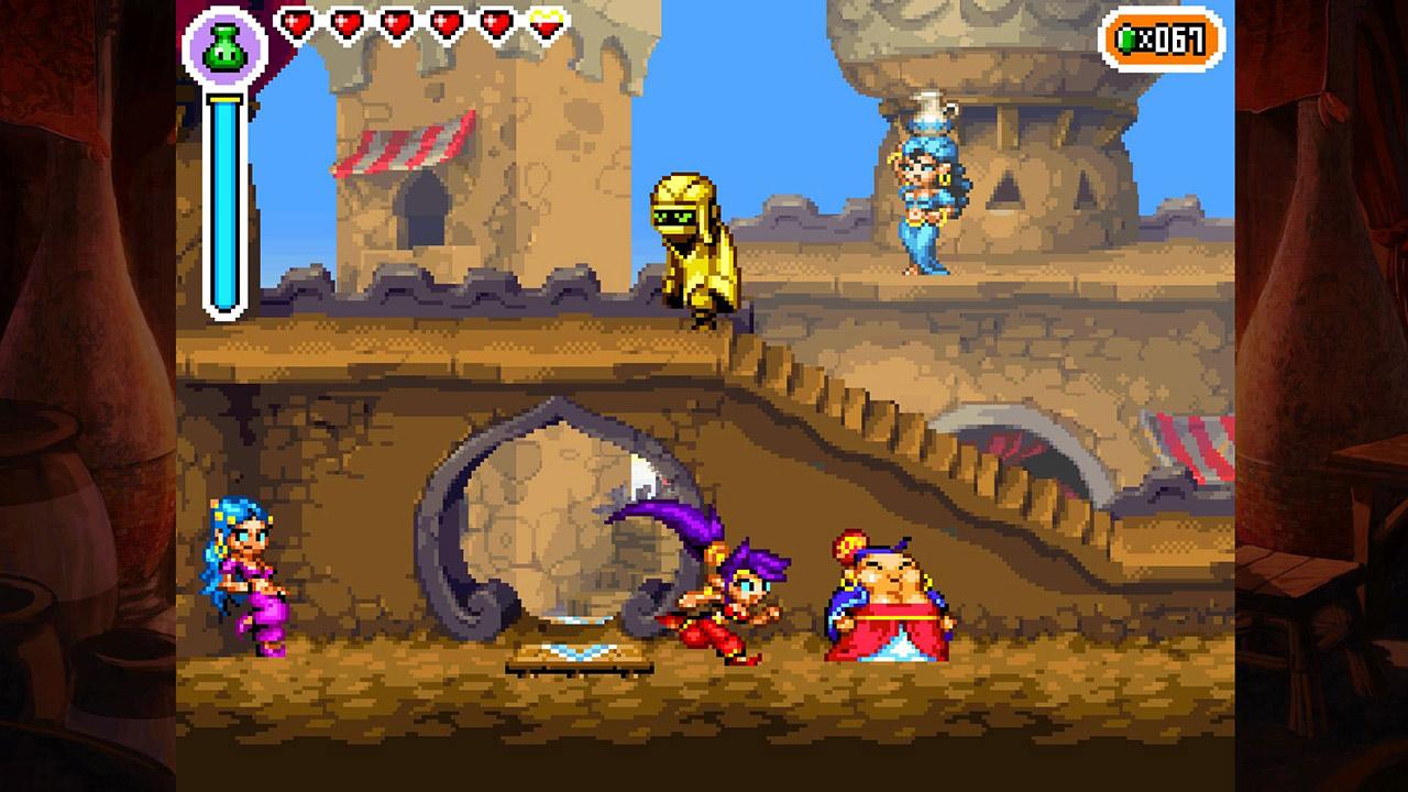 Скриншот №9 к Shantae Riskys Revenge - Directors Cut