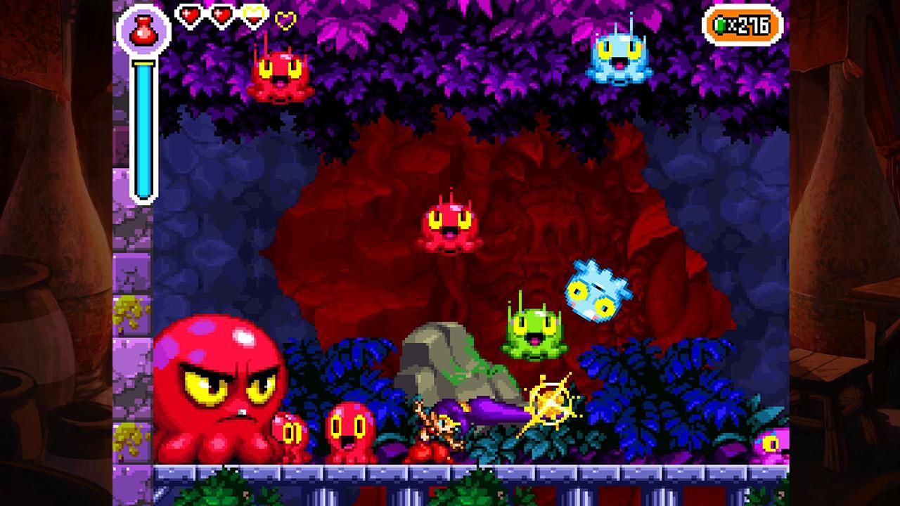 Скриншот №3 к Shantae Riskys Revenge - Directors Cut