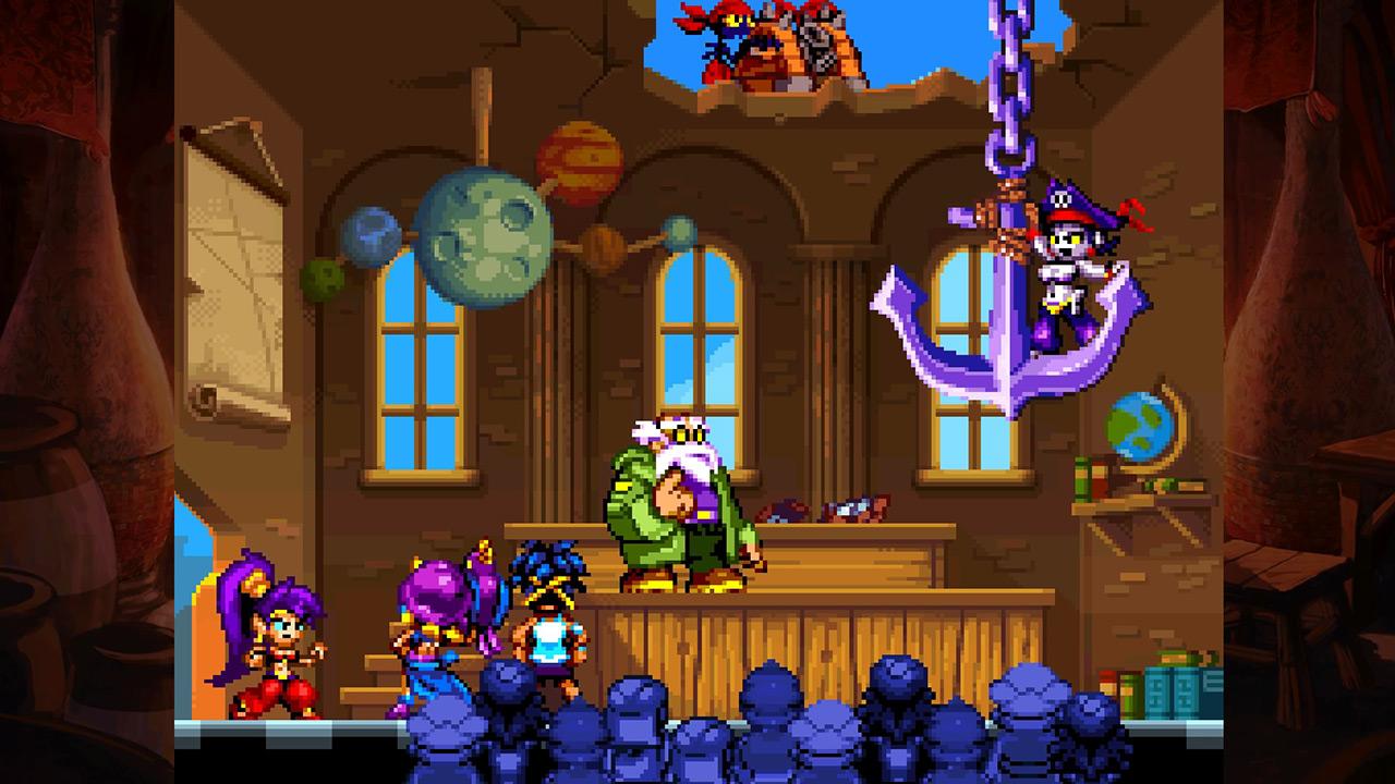 Скриншот №1 к Shantae Riskys Revenge - Directors Cut