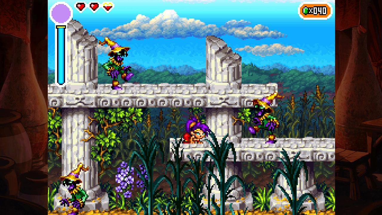 Скриншот №2 к Shantae Riskys Revenge - Directors Cut