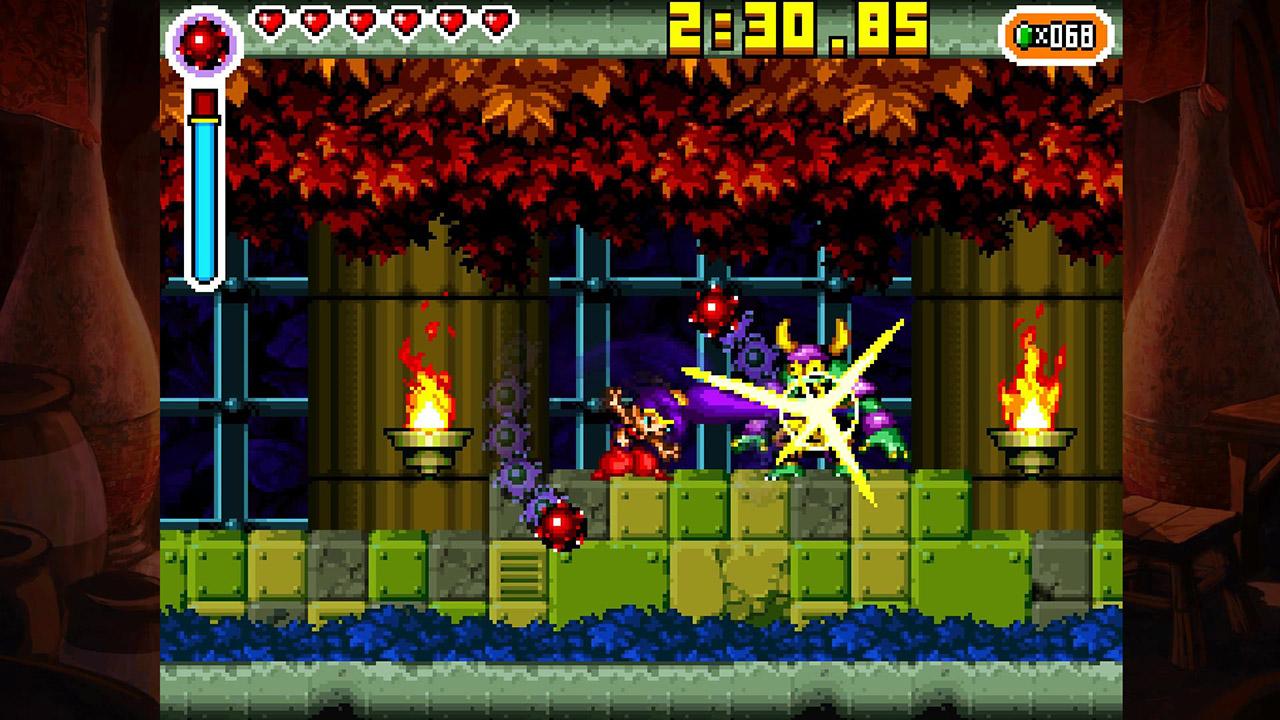 Скриншот №10 к Shantae Riskys Revenge - Directors Cut