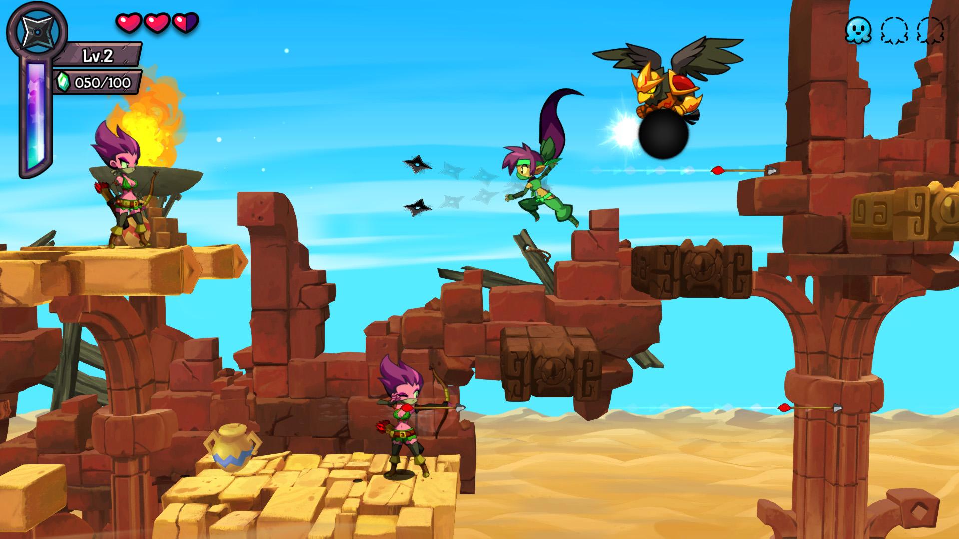 Скриншот №1 к Shantae Costume Pack