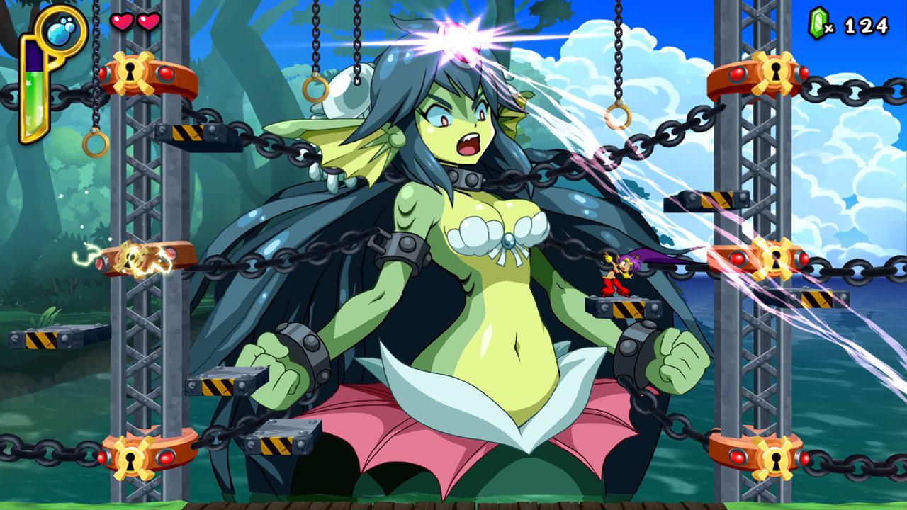Скриншот №2 к Shantae  Half- Genie Hero Ultimate Edition