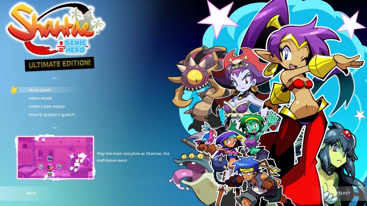 Скриншот №1 к Shantae  Half- Genie Hero Ultimate Edition