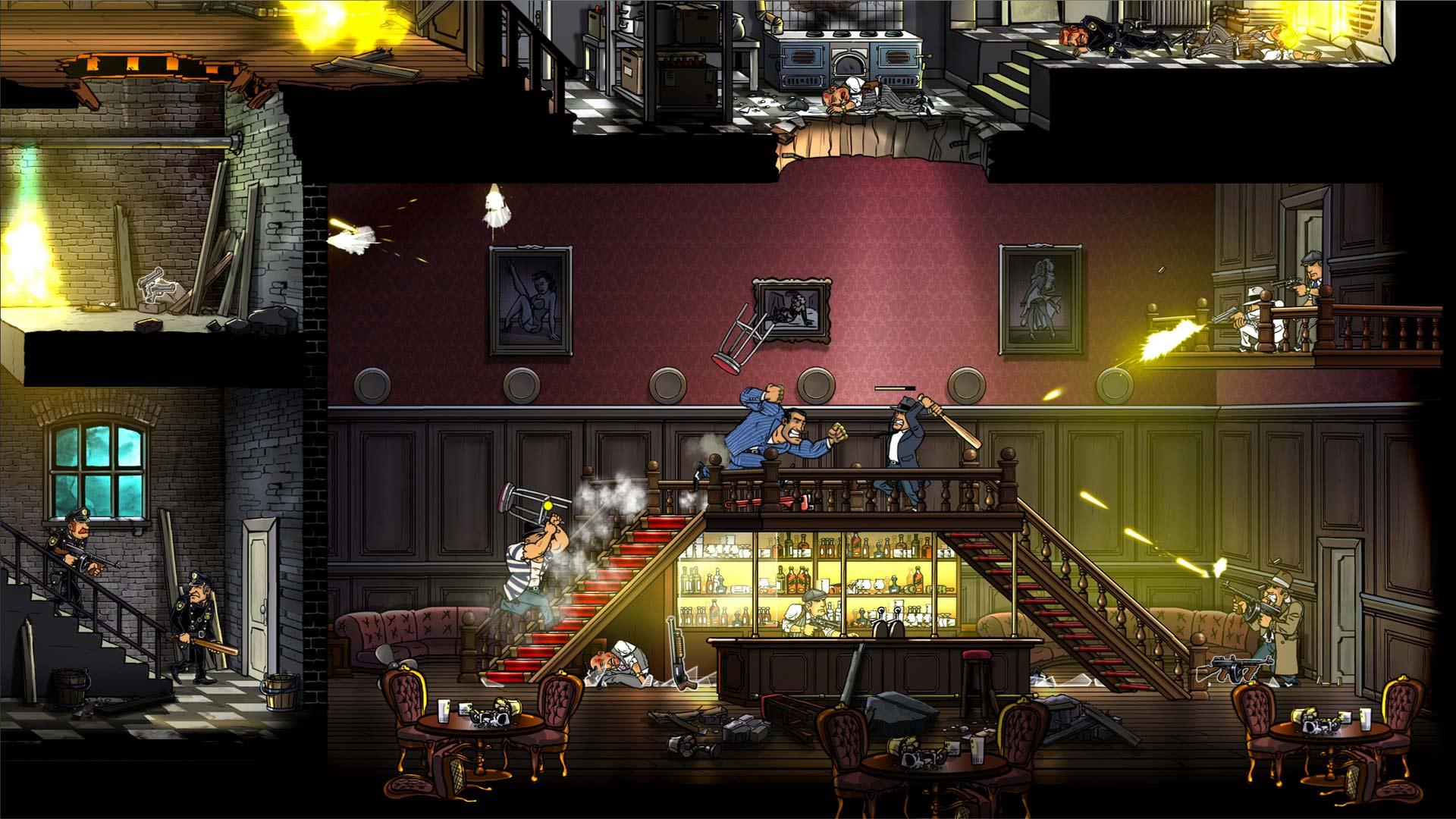 Скриншот №1 к Guns Gore and Cannoli 2