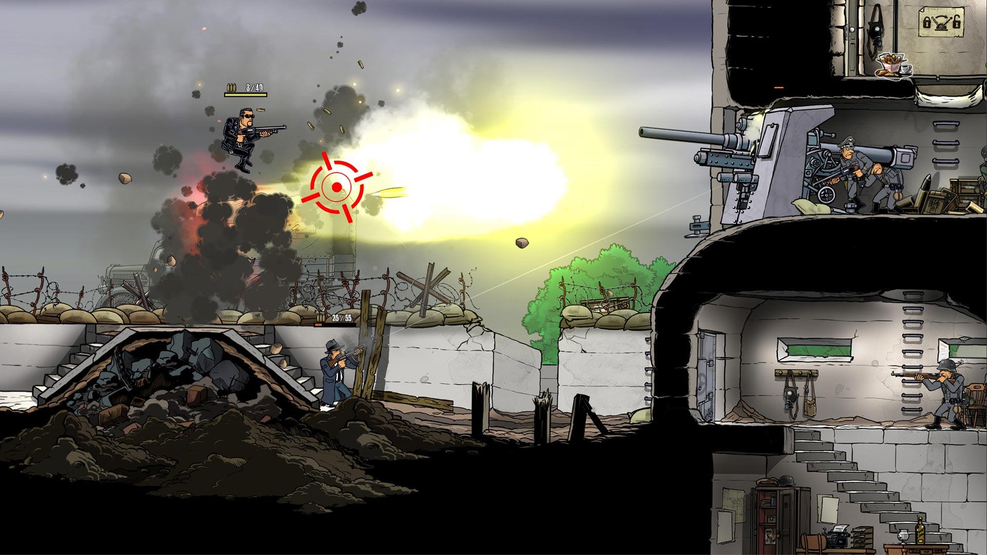 Скриншот №4 к Guns Gore and Cannoli 2