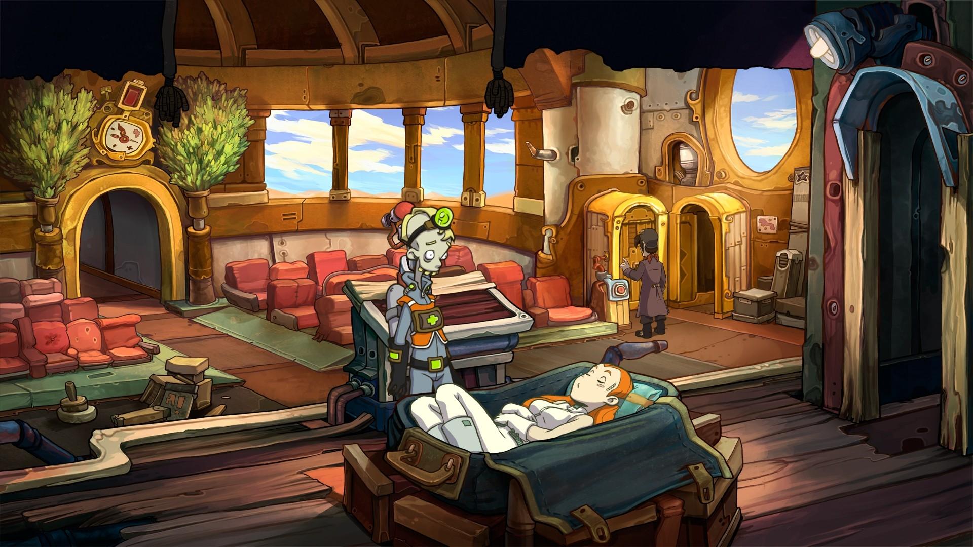 Скриншот №1 к Deponia