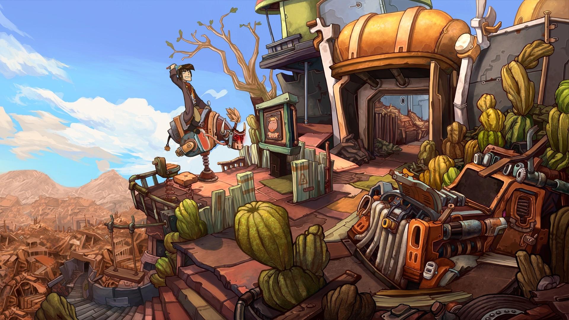 Скриншот №2 к Deponia
