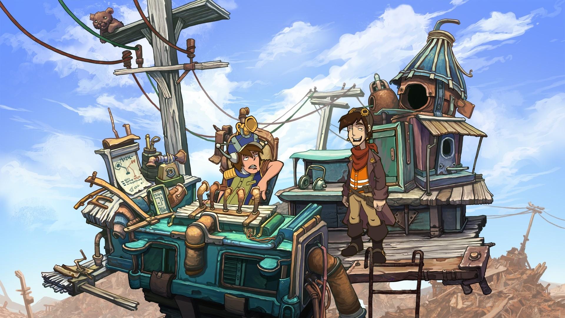 Скриншот №4 к Deponia