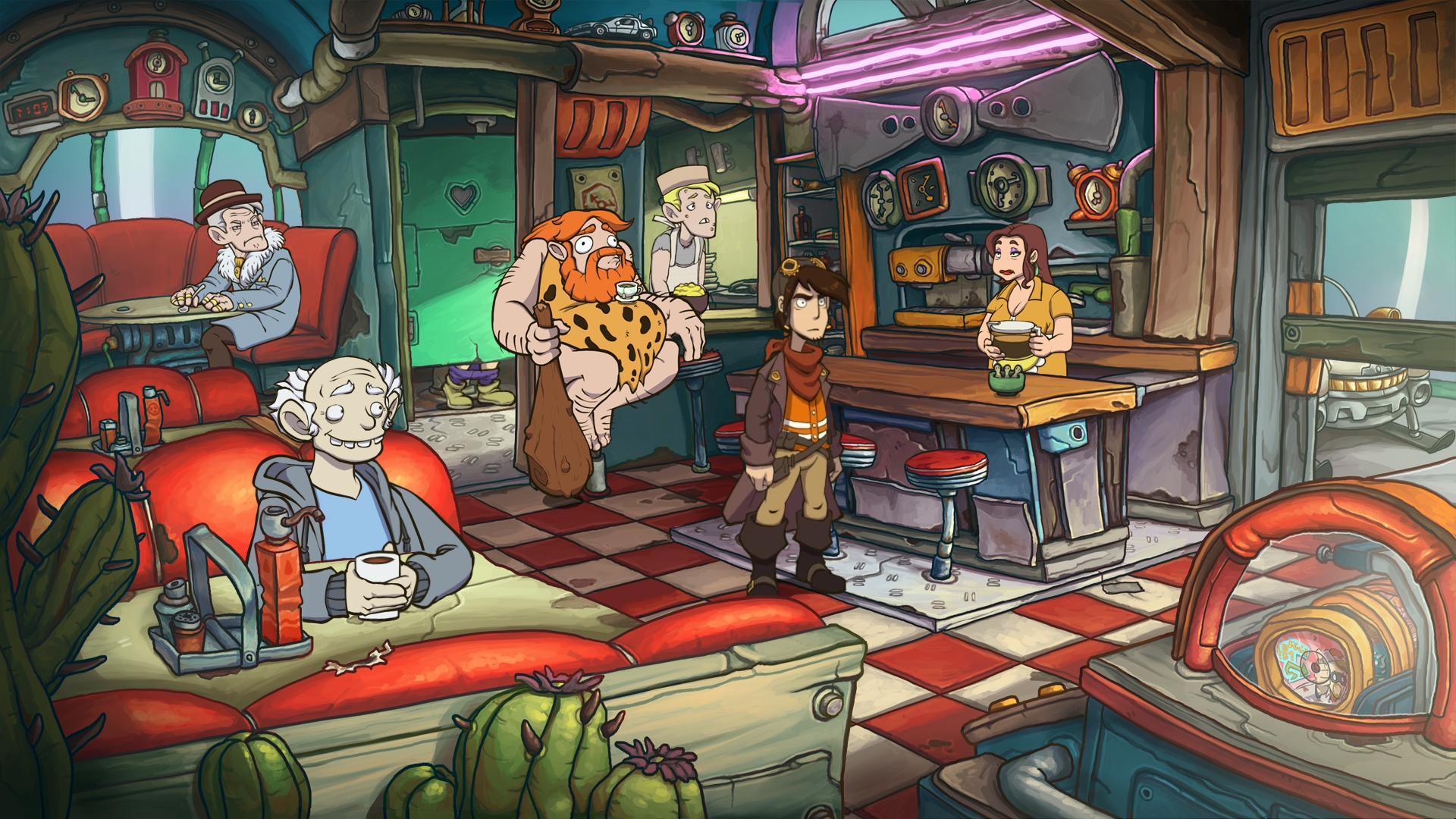 Скриншот №2 к Deponia Doomsday