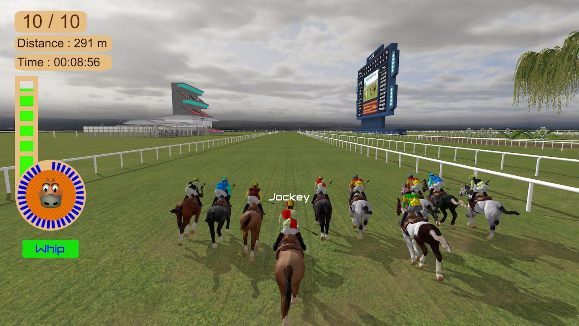 Скриншот №1 к Horse Racing 2016