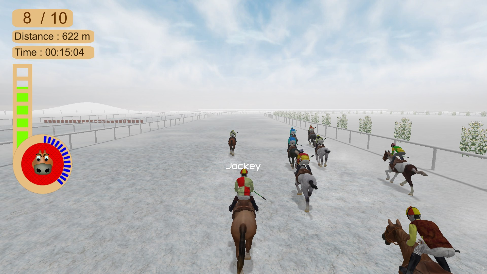 Скриншот №5 к Horse Racing 2016