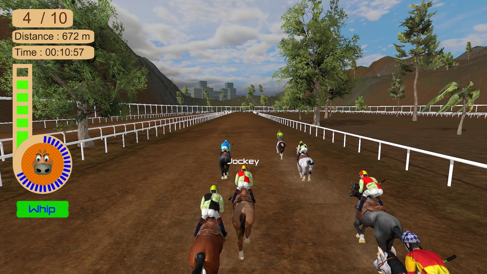 Скриншот №3 к Horse Racing 2016