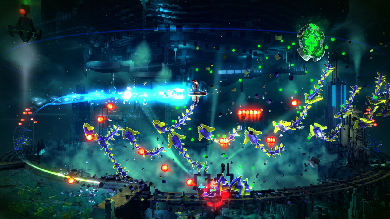 Скриншот №3 к RESOGUN