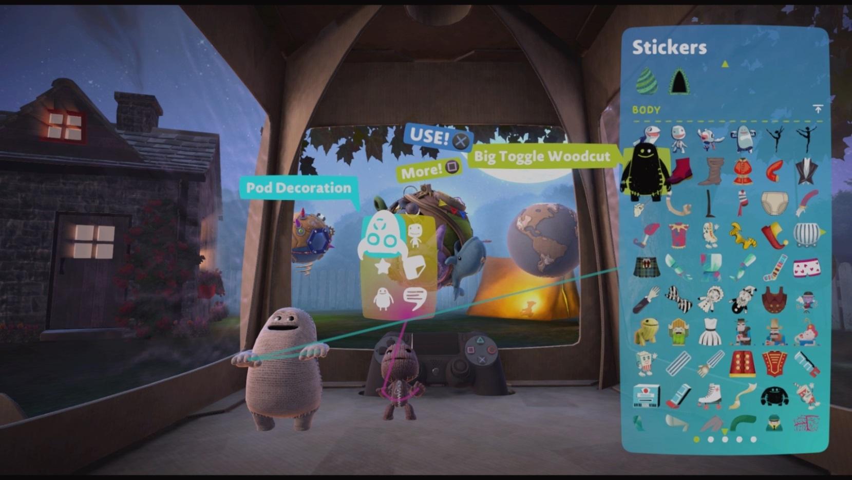 Скриншот №3 к LittleBigPlanet 3