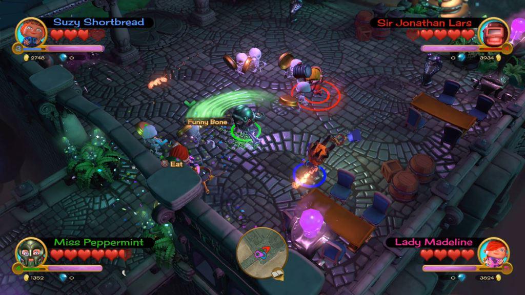 Скриншот №3 к «Fat Princess Невероятные приключения» -комплект Mega Loot