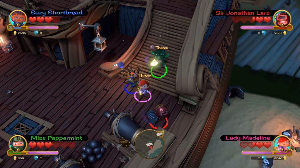 Скриншот №1 к «Fat Princess Невероятные приключения» -комплект Mega Loot
