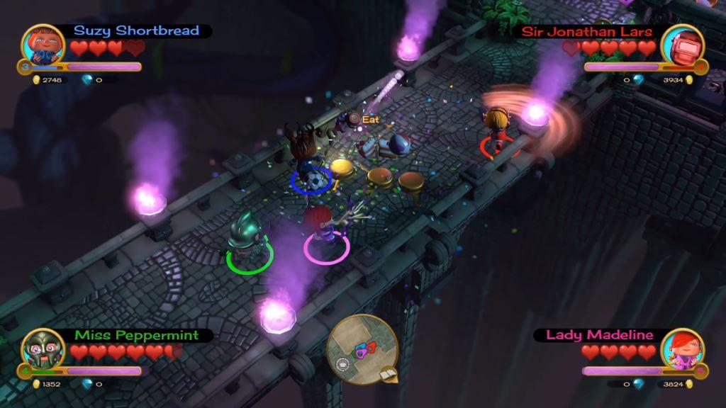 Скриншот №4 к «Fat Princess Невероятные приключения» -комплект Mega Loot
