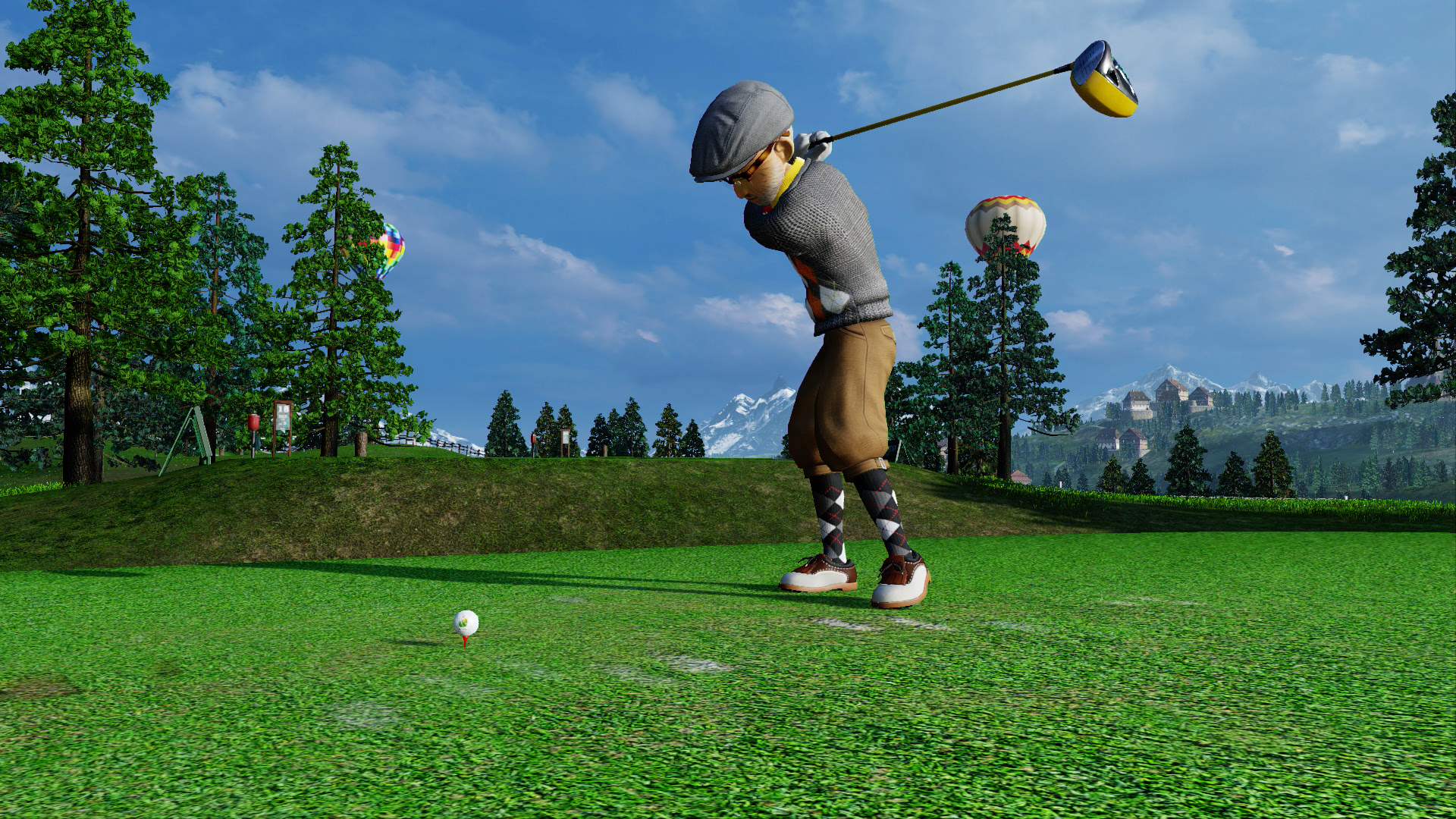 everybody s golf on ps4 official playstation store uk. Black Bedroom Furniture Sets. Home Design Ideas