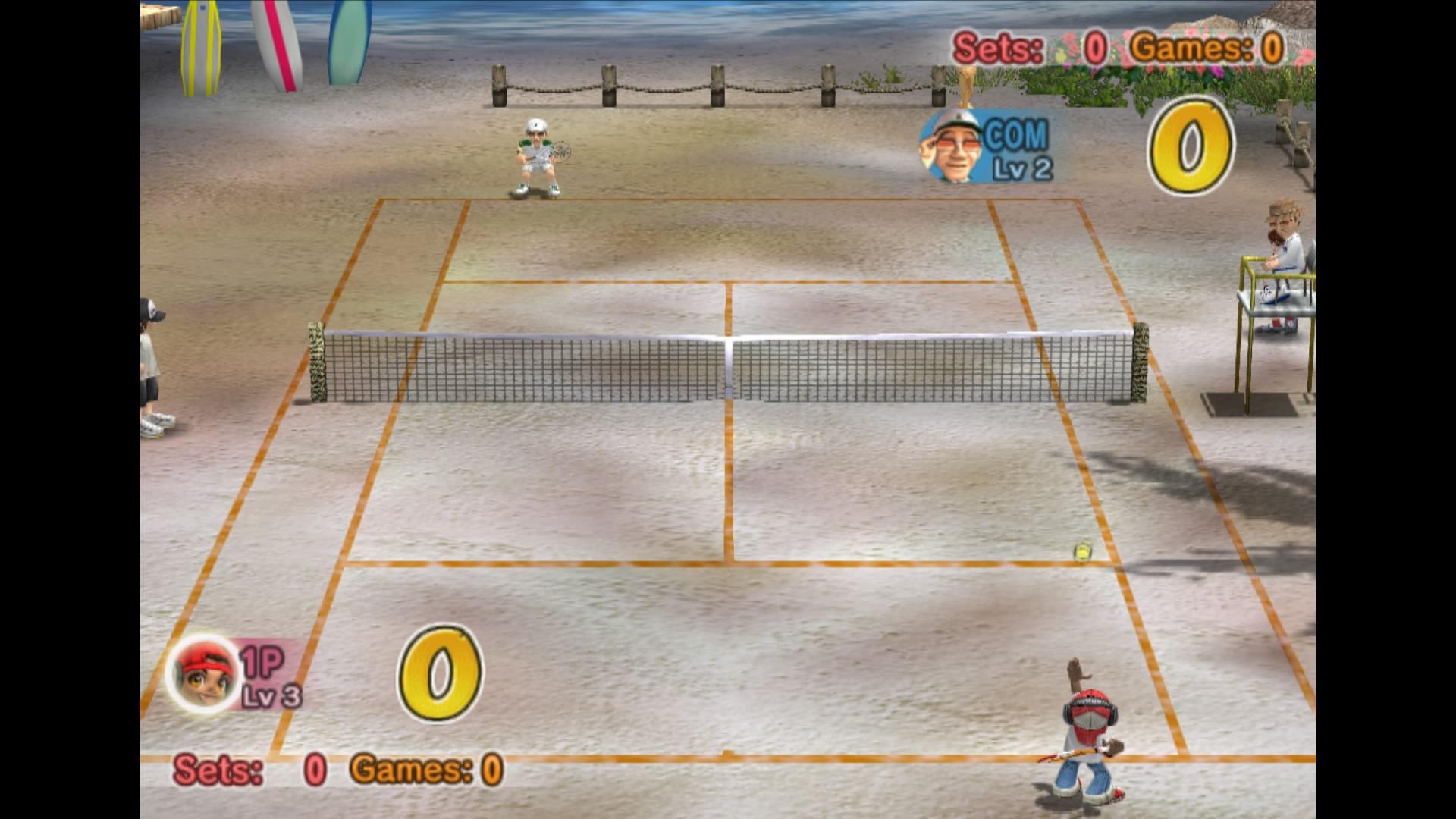 Скриншот №1 к Everybodys Tennis