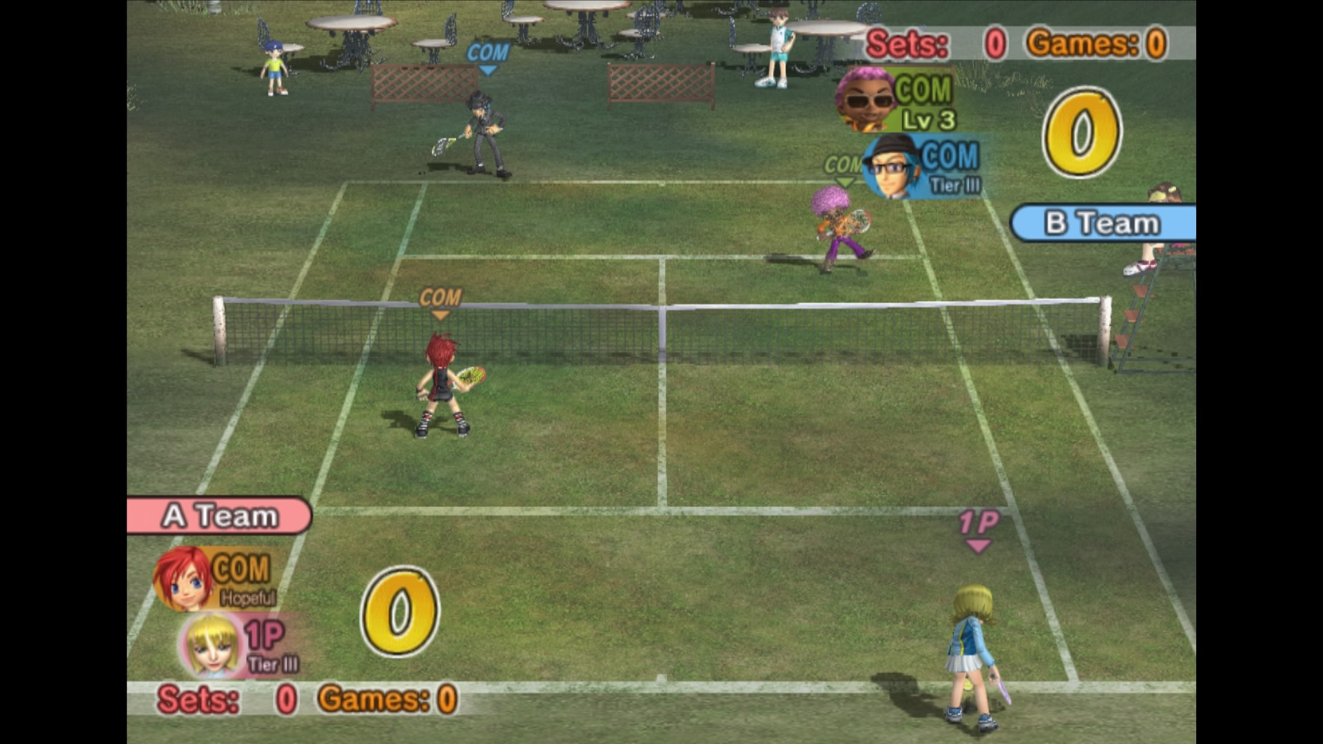 Скриншот №7 к Everybodys Tennis