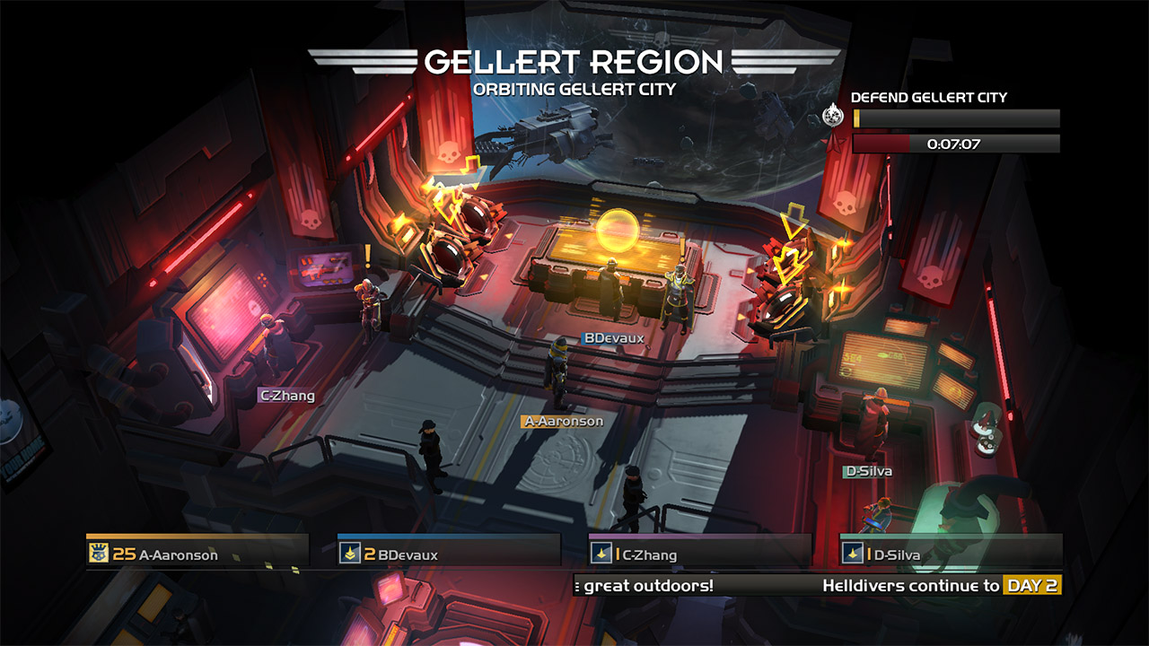 Скриншот №2 к HELLDIVERS Super-Earth Ultimate Edition