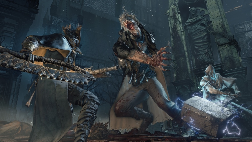 Скриншот №1 к Bloodborne Game of the Year Edition