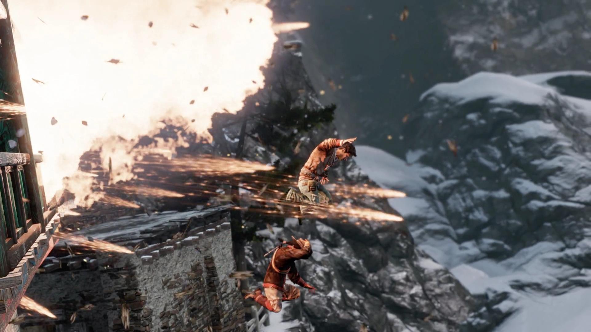 Скриншот №3 к Обновленная версия «Uncharted 2 Среди воров»