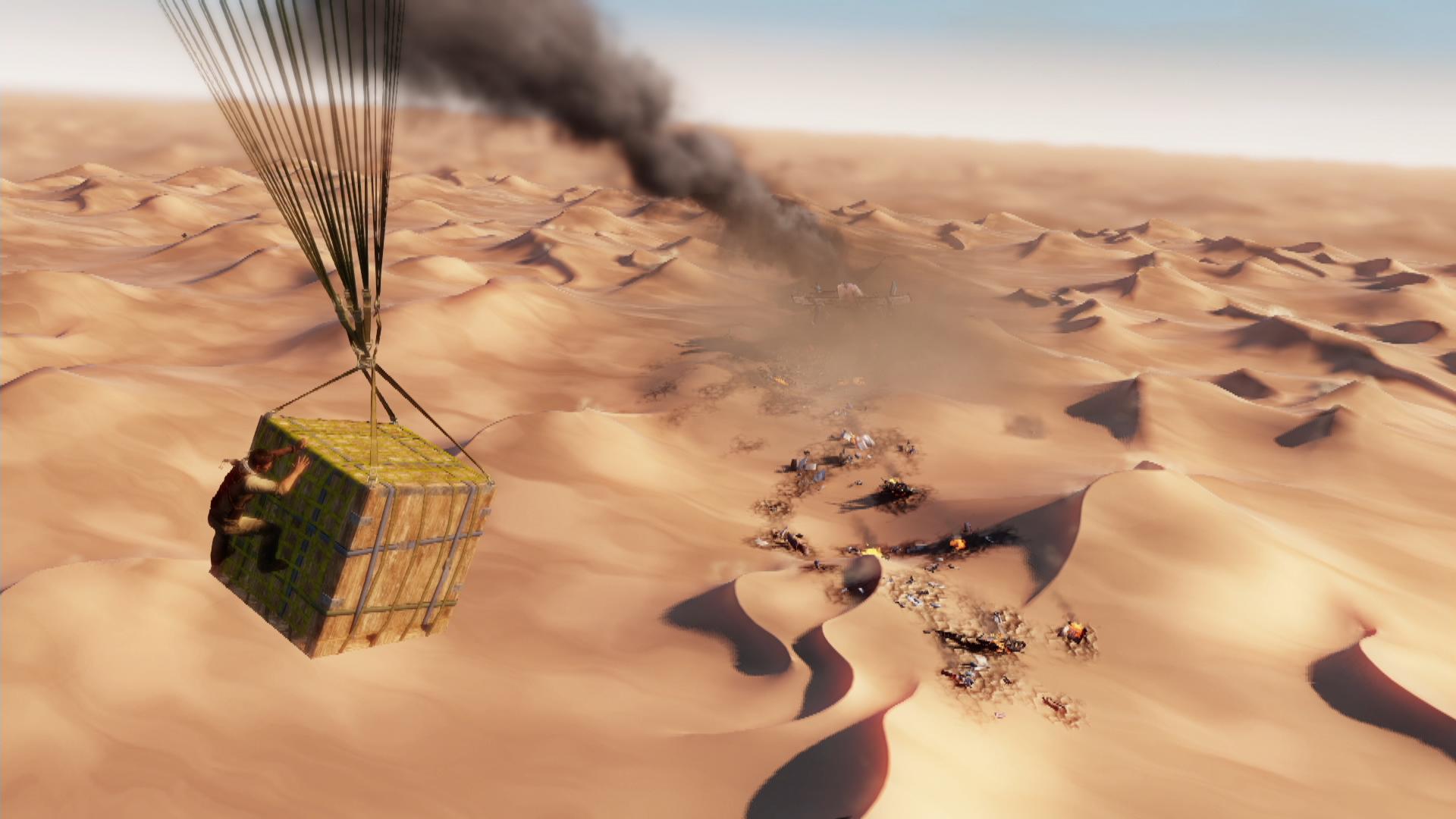 Скриншот №9 к Обновленная версия «Uncharted 3 Иллюзии Дрейка»