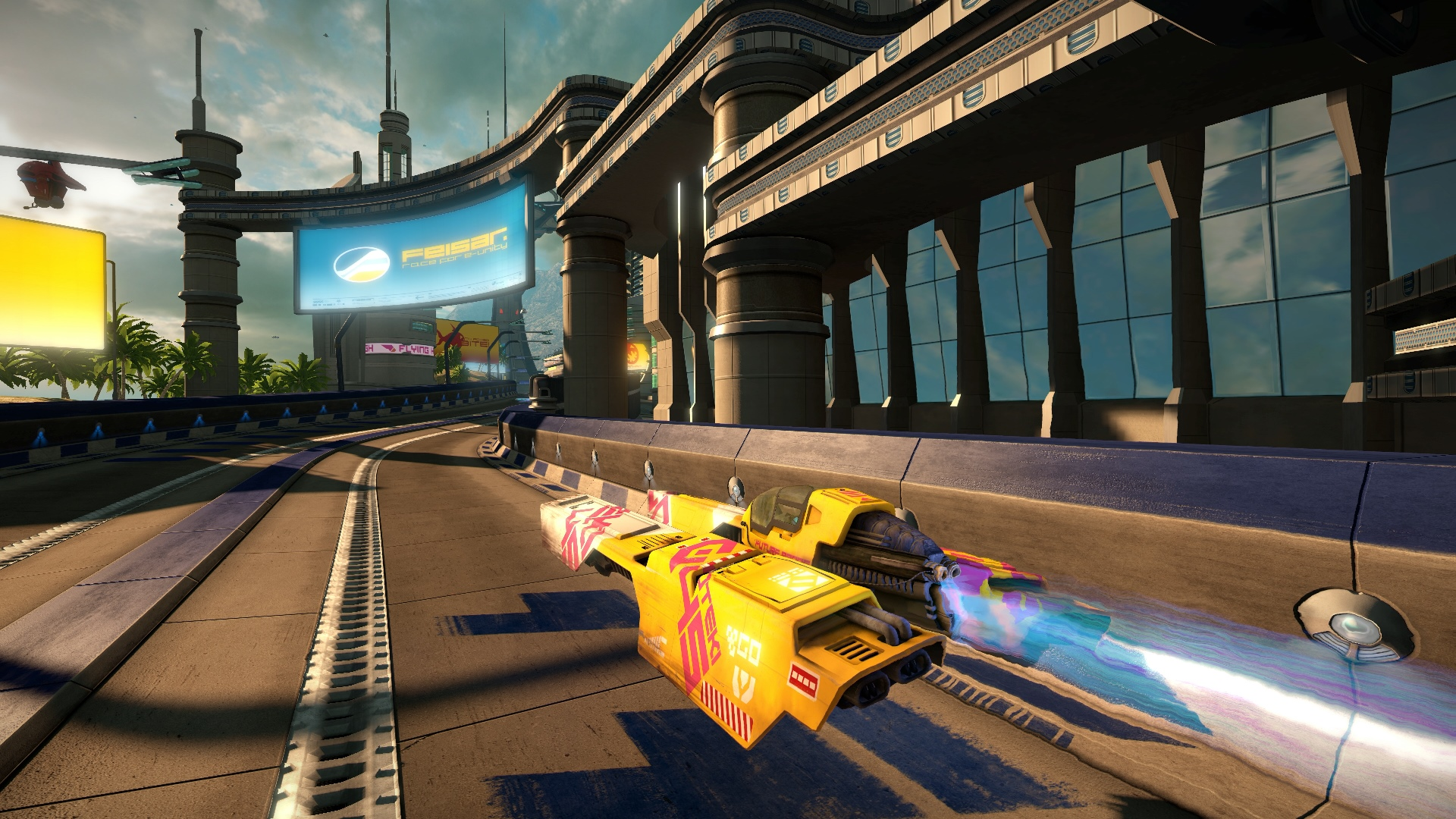Скриншот №5 к WipEout Omega Collection