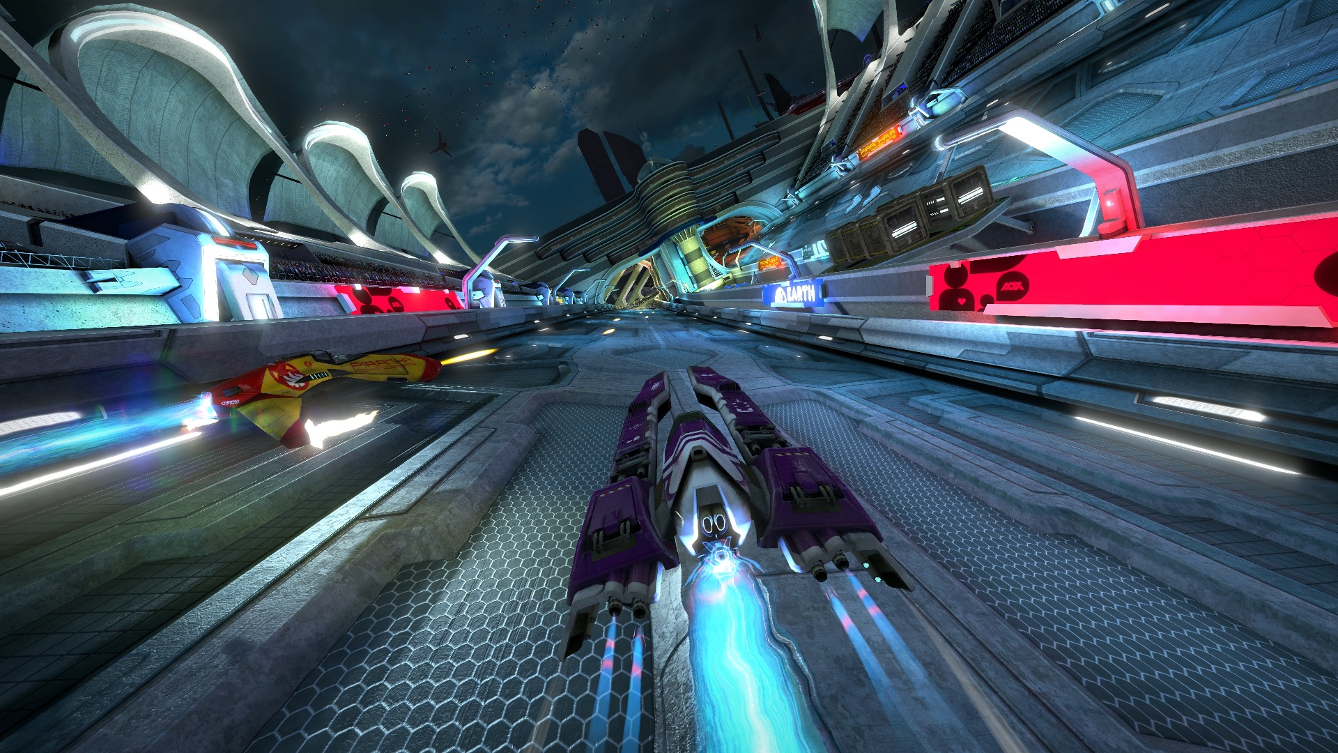 Скриншот №6 к WipEout Omega Collection