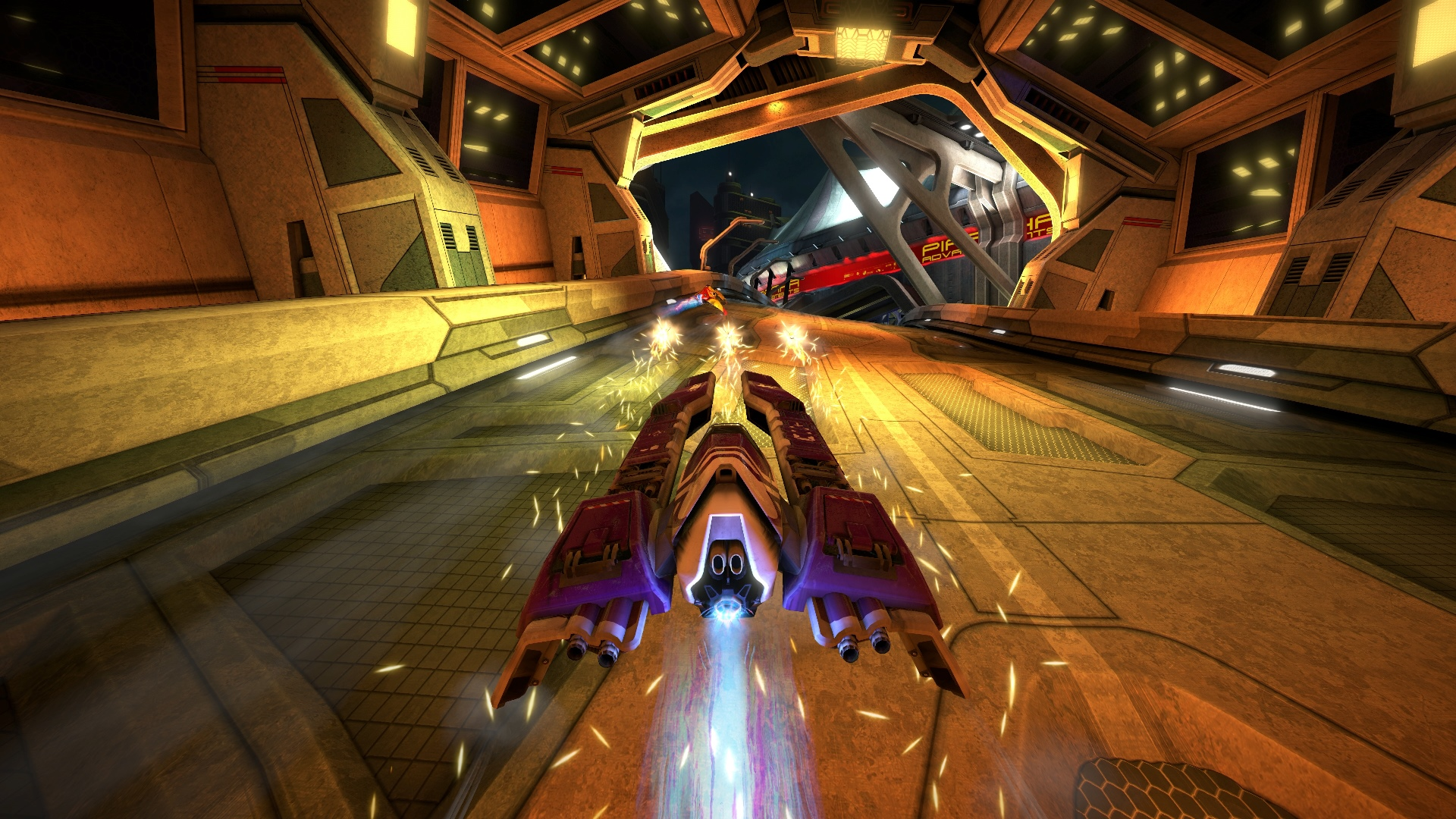 Скриншот №8 к WipEout Omega Collection
