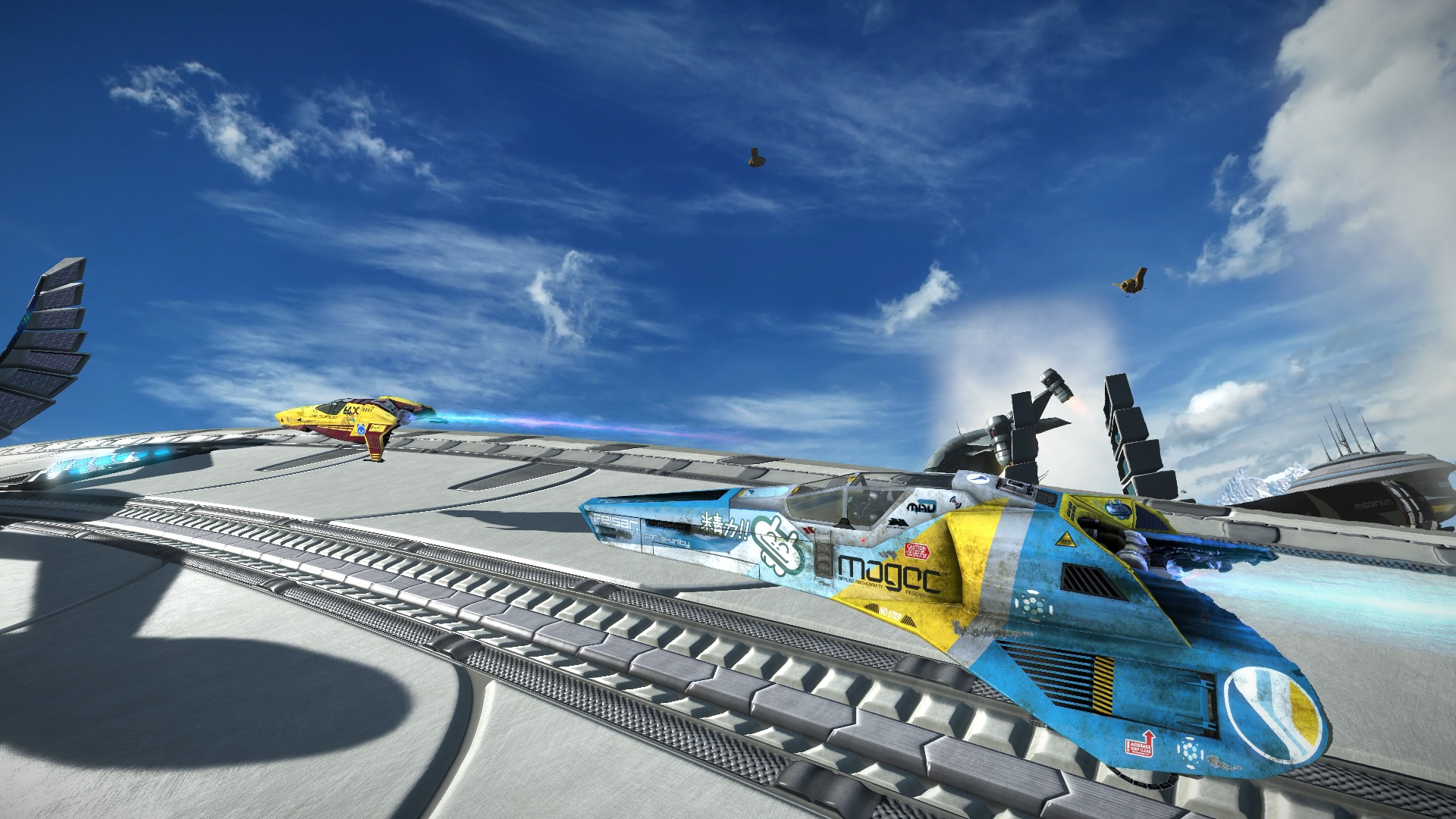 Скриншот №4 к WipEout Omega Collection