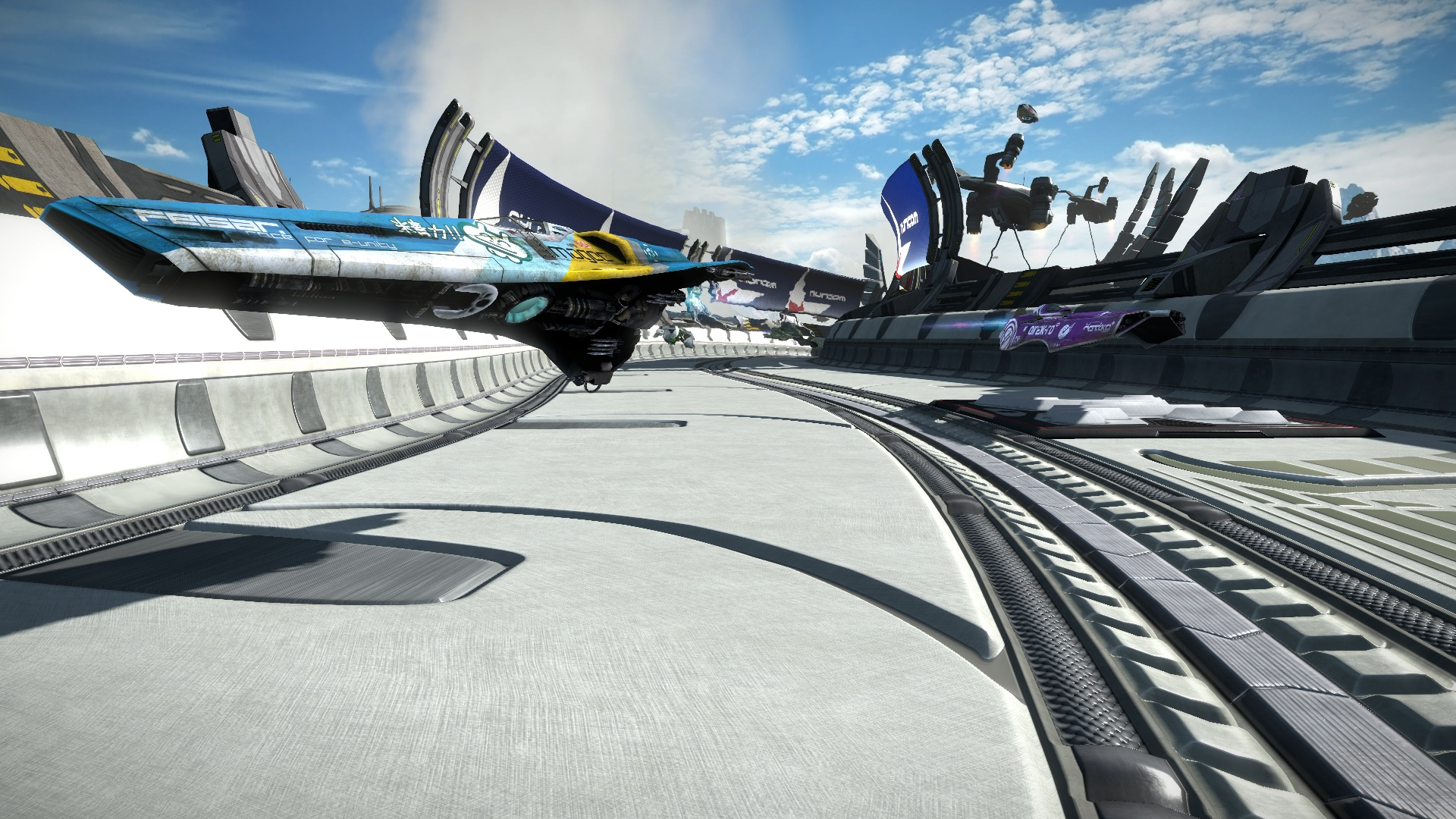 Скриншот №1 к WipEout Omega Collection
