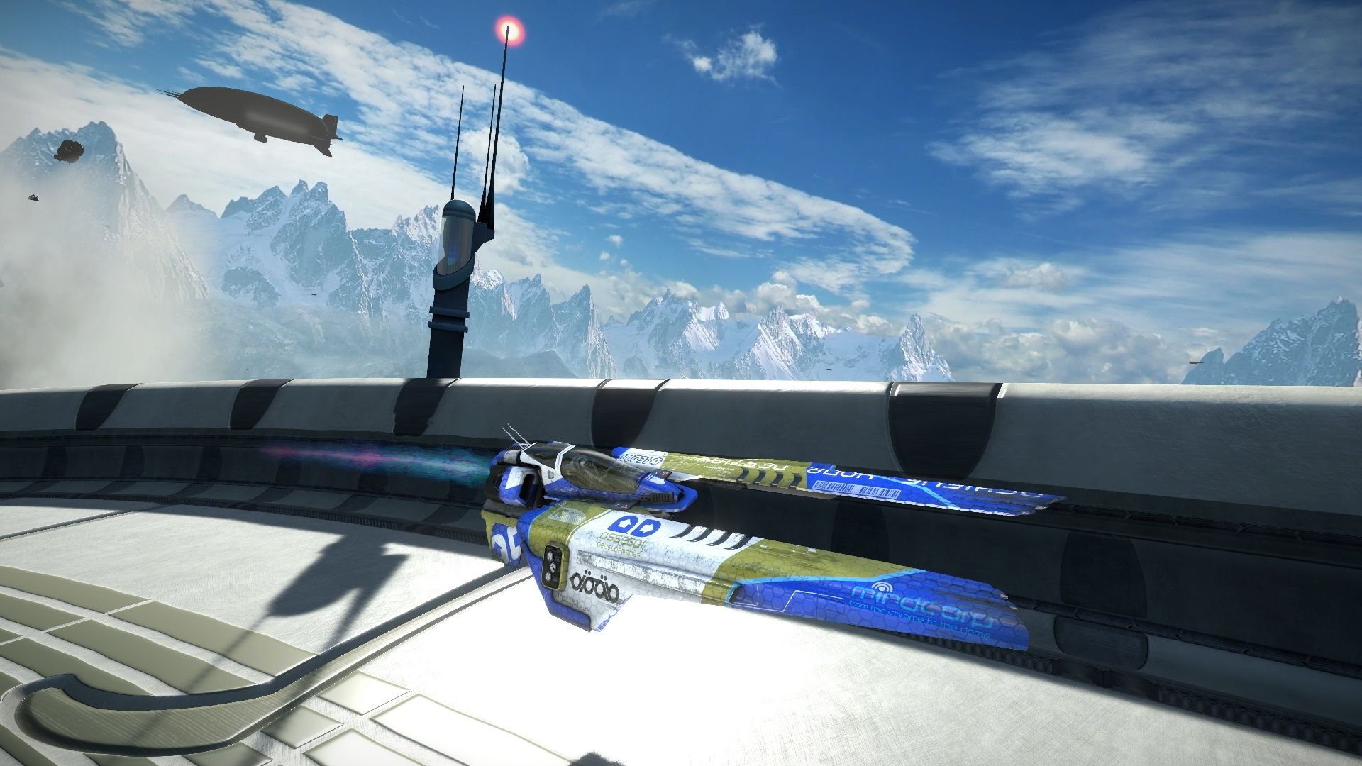 Скриншот №10 к WipEout Omega Collection