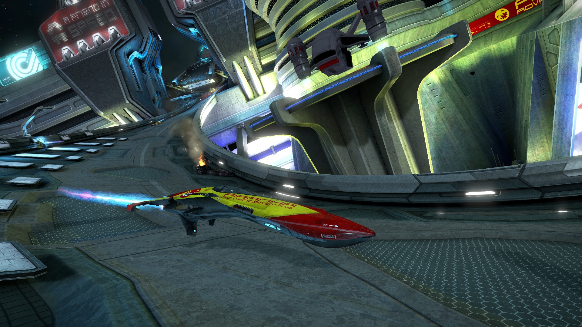 Скриншот №7 к WipEout Omega Collection