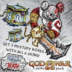 ПРЕДЛОЖЕНИЕ ОГРАНИЧЕНО: 6 обликов God of War® и 3 Mystery Boxes
