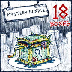 18 Mystery Boxes для Drawn to Death™