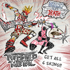 Drawn to Death™ – Набор обликов Twisted Metal